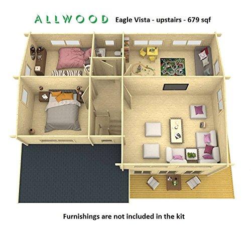 Allwood Eagle Vista 1336 Sqf Kit Cabin Holiday Gift Ideas